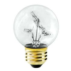 Bulbrite 716311 - 5 Watt - G16 Globe - 5 Internal Mini Bulbs - 30,000 Life Hours - 10 Lumens - Medium Base - 130 Volt