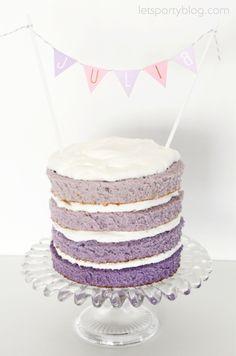 Ombré Naked Cake