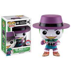 Buy DC Comics Funko The Joker (The Killing Joke) Pop! Vinyl from Pop In A Box US, the Funko Pop Vinyl shop and home of pop subscriptions. Reverse Flash, Disney Pop, Dc Comics, Funko Pop Marvel, Funko Pop Figures, Pop Vinyl Figures, Black Canary, Dark Knight, Godzilla