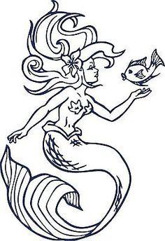 High Quality Mermaid Sea Fish Fantasy Ocean Girl Car Truck Window Laptop Vinyl Decal  Sticker