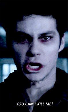 -Talvez eu devesse te morder Stiles - ele me empurrou forte contra a … #fanfic # Fanfic # amreading # books # wattpad