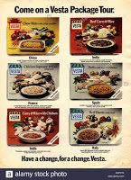 For bachelors from Batchelors. Memories of 1970s ready meals.