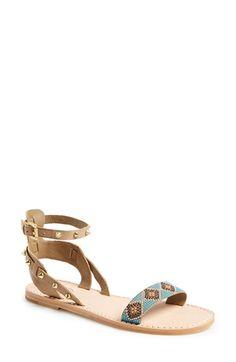 Ash 'Pearl' Studded Leather Sandal #boho @Nordstrom