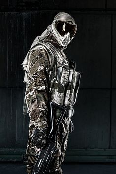 #Paintball Ghost Soldier