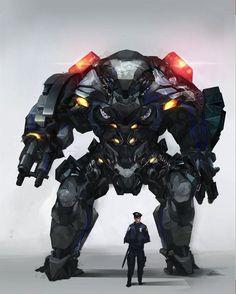 Hình robot siêu nhân biến hình Brawler bởi * CreatureBox trên deviantART no.109 | Hinh anh dep