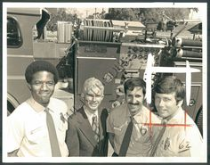 (Left to Right) Ed McFall, Dick Friend, Michael Sterns, Mike Stoker  Source