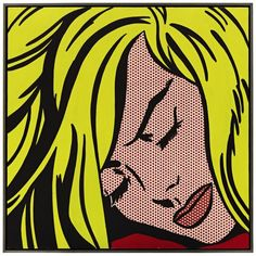 $44,800,000 Roy Lichtenstein's Sleeping Girl