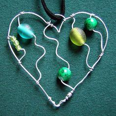 Green Heart Pendant   Flickr - Photo Sharing!