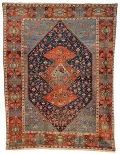 A BAKSHAISH CARPET And Peggy, Long Island City, Fabric Rug, Rugs On Carpet, Carpets, Types Of Rugs, Persian Carpet, 19th Century, Bohemian Rug