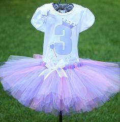 Princess Birthday Outfit Princess by TwistinTwirlinTutus on Etsy, $49.99