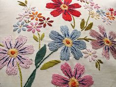 Embroidery Love   Flickr - Photo Sharing!