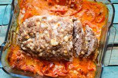 Der Low Carb Hackbraten ist perfekt geeignet als Sonntagsbraten für die ganze Familie. Überzeugt neben den Nährwerten mit super Geschmack!