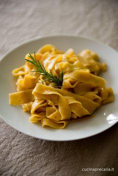 Tagliatelle arancioni di zucca   cucinaprecaria.it