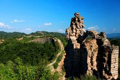 Wild Great Wall in China is heaven for hiking