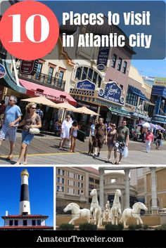10 Places to Visit While You're in Atlantic City, New Jersey Travel Goals, Travel Usa, Travel Advice, Travel Ideas, Travel Guide, Vacation Trips, Day Trips, Family Vacations, Vacation Ideas