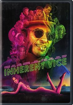Inherent Vice - Starring Joaquin Phoenix, Josh Brolin, Owen Wilson, Reese Witherspoon, Benicio Del Toro, Jena Malone, Maya Rudolph, Martin Short, and Katherine Waterston.  #drama  #book2movie
