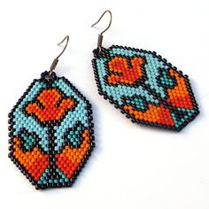 Beads: Beaded Earrings