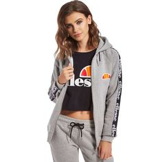 Ellesse Tape Full Zip Hoody | JD Sports