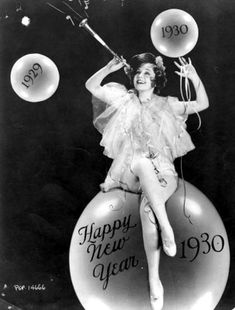 """libertinefilms: """" Here's how Nancy Carroll rocked New Years Eve in Good old fashioned fun. Happy New Years! Vintage Happy New Year, Vintage Holiday, Vintage Year, Vintage Cards, Vintage Images, Les Suffragettes, Nancy Carroll, Nostalgia, Auld Lang Syne"""
