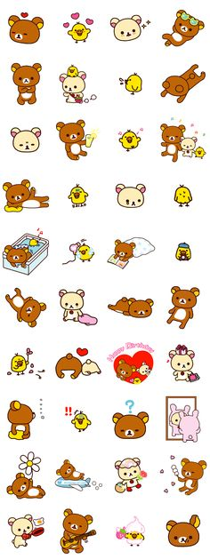 画像 - Rilakkuma Part2 by Imagineer Co., Ltd. / San-X Co., Ltd. - Line.me