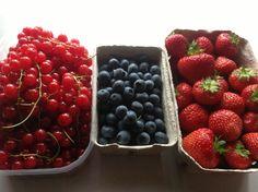 Berries taste best when picked locally in the summer!