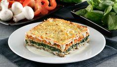 #LaReceta · Lasaña de espinacas y setas | #Gastronomía