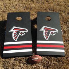 Atlanta Falcons Cornhole by EricasMark on Etsy, $150.00