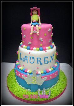 western little-girl-cake-ideas