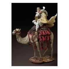 Figurine historique 90mm-Lawrence d'arabie
