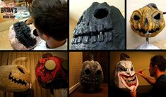 How To Make Paper Clay Jack O' Lanterns For Halloween