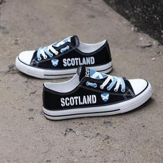 ce5c21ef36 Custom Printed Low Top Canvas Shoes - Proud Scotland Pride Shoes