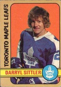 Darryl Sittler: Hockey Hall Of Fame Toronto Maple Leafs Captain Pro Hockey, Hockey Baby, Hockey Players, Hockey Cards, Baseball Cards, Hockey Hall Of Fame, Maple Leafs Hockey, New York Islanders, O Canada