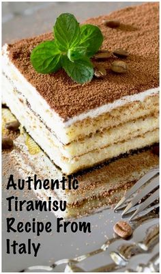 The Best Recipe of Tiramisu from our time living in Italy! #livinginitaly  #LivinginItaly  #VacationsinItaly #VisitingItaly #LivinginItaly #TravelinItaly #PlacestogoinItaly