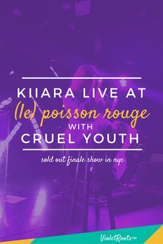 Kiiara Live at (le) Poisson Rouge - Kiiara closed out her first major tour in NYC! Get concert highlights from Kiiara live at (le) poisson rouge with supporting acts Cruel Youth and lil Aaron!