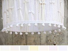 Tambor de pantalla elegantes cortinas de por GreenQueenEcoDesign