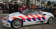 Spyker C8 Spyder politie