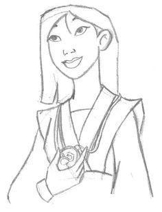 Mulan sketch
