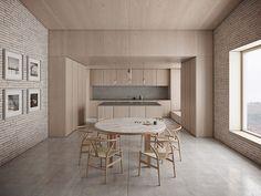 Life House by John Pawson - Gallery - McNeel Forum - Architecture John Pawson Architect, Architect House, Apartment Interior, Kitchen Interior, Kitchen Design, Kitchen Ideas, Kitchen Decor, Sustainable Architecture, Interior Architecture