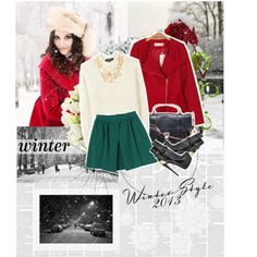 Winter Style 2013, created by karina-zahra on Polyvore