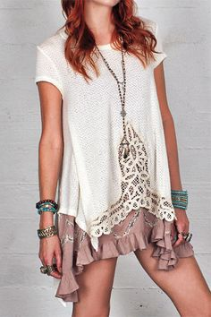 Annabelle Crochet Top — Gypsan - Bohemian and Boho Chic Clothing for Women