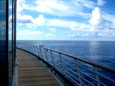 Take a stroll on Mariner of the Seas.