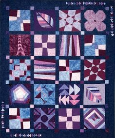 """Carefree Sampler Quilt"""