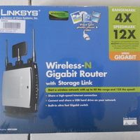 Linksys Wireless-N Gigabit Router with Storage Lin