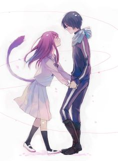 Hiyori & Yato .. Cute - Noragami