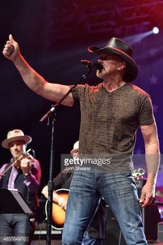 Trace Adkins performs at the Charlie Daniels' 2015 Volunteer Jam at... News Photo | Getty Images