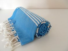 Turkish Bath Towel Peshtemal Beach Towel by CottonBathTowels, $23.00