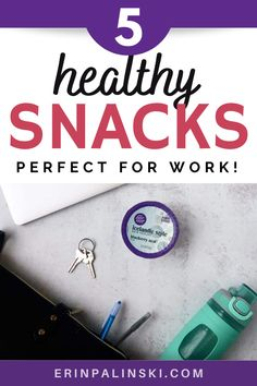 Need health snacks for work? Trying to eat a healthier diet but having trouble finding nutritious snack recipes? Check out these 5 healthy snack recipes which are perfect for work or on the go!