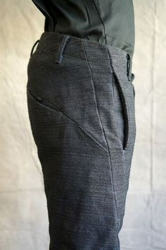 Minimalist DNA Pants - Cotton - Grey: