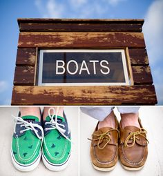 Love the sperrys side by side....(National Harbor Engagement Pictures)