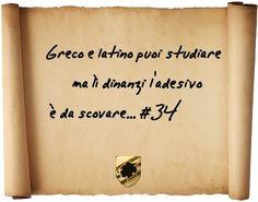 Greco e latino puoi studiare, ma lì dinanzi l'adesivo è da scovare... #34